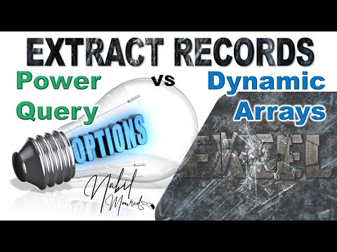 Power Query and Dynamic Arrays… The Excel Dream Team For Extracting Records