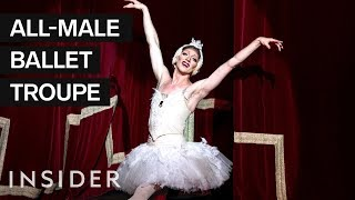What It Takes To Be A Ballerina In Drag