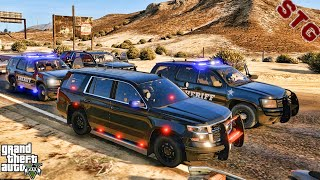 UNMARKED TAHOE| SHERIFF MONDAY PATROL!!!| #154 (GTA 5 REAL LIFE PC POLICE ROLEPLAY MOD)