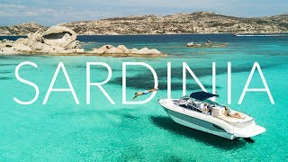 Sardinia Italy - The Bluest water in the world