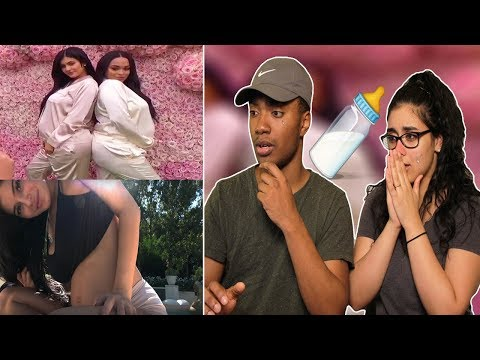 To Our Daughter   REACTION Kylie Jenner BABY   GIRLFRIEND CRIES 😢 & GIRLFRIEND WANTS BABY NOW 😳🍼