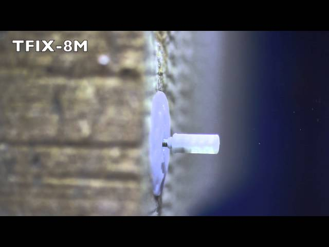 TFIX-8M Facade fixing with metal nail