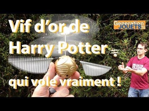 Vif d'or Harry Potter qui vole vraiment ! (UNBOXING & TEST)
