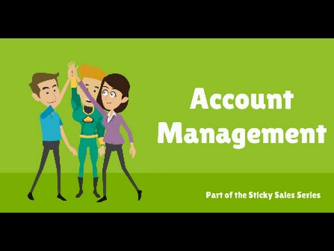 Free Sales Training Video: Account Management - YouTube