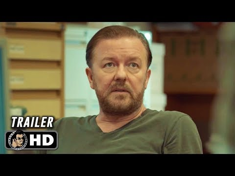 AFTER LIFE Official Trailer (HD) Ricky Gervais Netflix Series