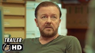 AFTER LIFE Official Trailer (HD) Ricky Gervais Netflix Series