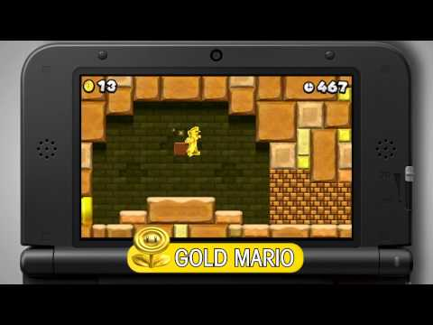New Super Mario Bros. 2 ukazuje sbírání mincí