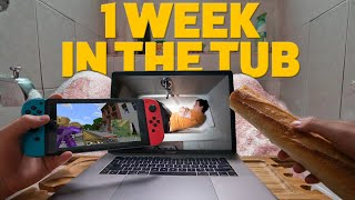 I Lived In My Bathtub For A Week thumbnail