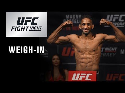 La pesée de l'UFC Fight Night Buenos Aires