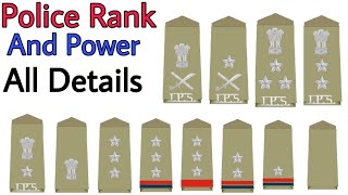 All Police Ranks In India | Salary | Promotion | Post | Designation | पद | पुलिस | Constable To DGP|
