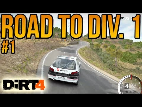 Dirt 4 Road To Division 1 #1