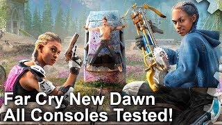 [4K] Far Cry New Dawn: PS4/Pro/Xbox One/X - Every Console Tested!