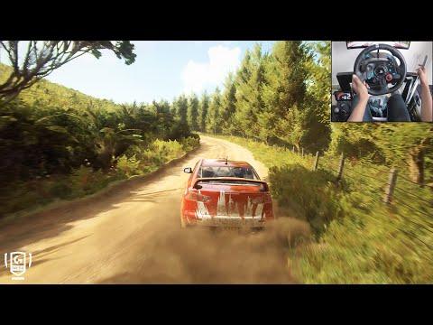 Mitsubishi Lancer Evo X - Dirt Rally 2.0 | Logitech g29 gameplay