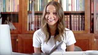 Alicia Vikander Calls Random People In Sweden | Vanity Fair