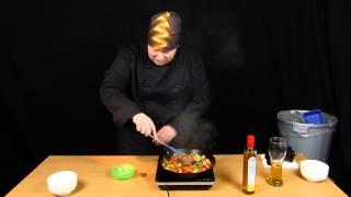 Champignon Zwiebel Pfanne