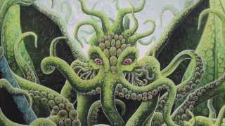 """""""Awake Ye Scary Great Olde Ones"""" Lovecraft Scary Solstice carol"""