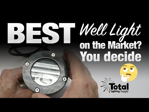 The Best LED Well Light on the Market? You decide
