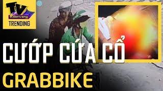 Tài xế GrabBike bị KỀ DAO VÀO CỔ xe máy ở Sài Gòn giữa ban ngày