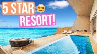 5 STAR RESORT EXPERIENCE AT ST. REGIS MALDIVES!