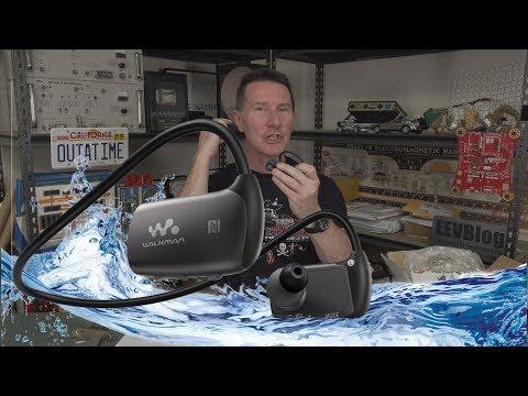 EEVblog #1210 - Sony Waterproof Earphones Teardown