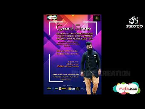 FashZone Presents National Icon Model Hunt 2k19 Powered by Thibba's Group Grand Finale
