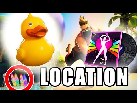 Search The Tiny Rubber Ducky At The Spot Hidden In The Summertime Splashdown Loading Screen - Day 13