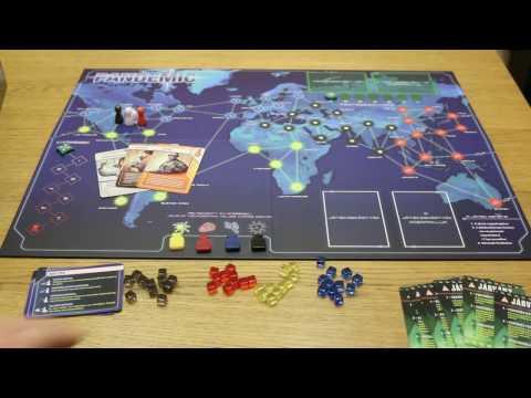 Pandemic társasjáték bemutató és szabályok - mrakostube