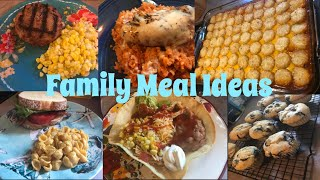 What's for Dinner?| Family Meal Ideas| July 9-15, 2018