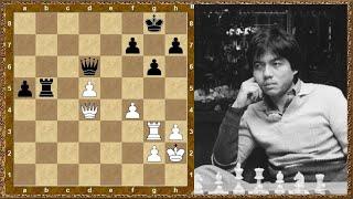 Шахматы обучение. Проходная пешка! Торре - Романишин, 1988