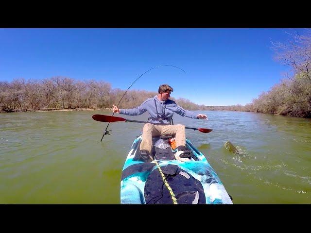 Kayak Bass Fishing -- My Biggest Bass (again)