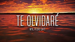 MYA, Pedro Capó   Te Olvidaré (Lyrics  Letra)