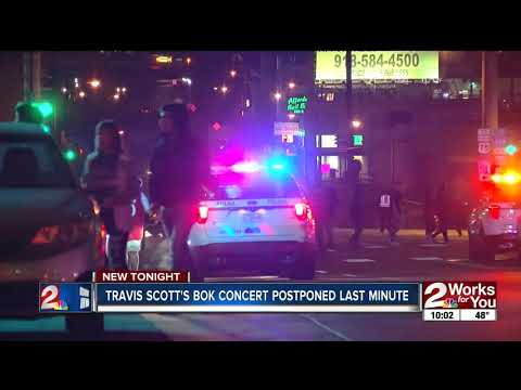 d1eae755e00e TPD uses pepper balls to calm angry Travis Scott fans after concert  postponed