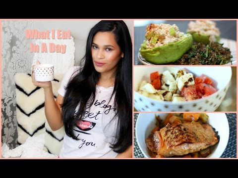 Video What I Eat In A Day - Easy Healthy Recipes - MissLizHeart