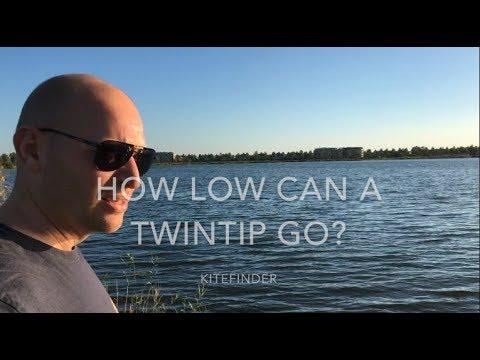 How low can a TWINTIP go? | Kiteboard Review Spleene Monster Door