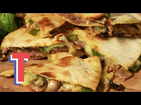 Video Beef And Cheese Quesadilla | Good Food Good Times