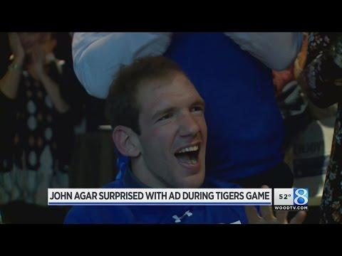 Spot featuring John Agar airs during Tigers game