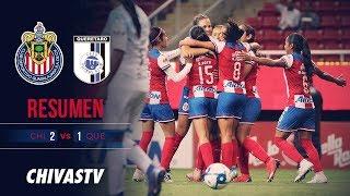 Racha Rojiblanca | Resumen | Chivas Femenil 2-1 Querétaro | Todos los goles | J11 LigaMX Femenil