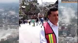 TERREMOTO DE 7.1 EN MÉXICO, CERCA DE 20 EDIFICIOS COLAPSADOS, PUEBLA y MORELOS AFECTADOS