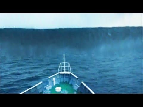 Самые БОЛЬШИЕ волны снятые на камеру