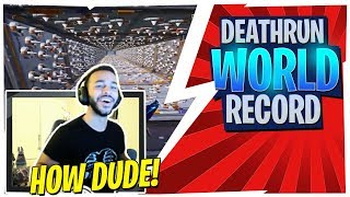 HAMLINZ REACTS TO GUY BEATING CIZZORZ DEATH RUN WORLD RECORD!
