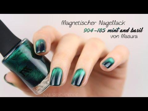 Tutorial - magnetischen Nagellack benutzen