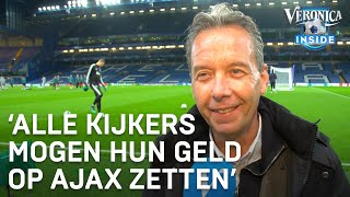 Valentijn: 'Alle kijkers mogen hun geld op Ajax zetten' | VERONICA INSIDE