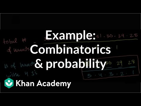 poker hand probability questions