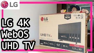 開箱實試 LG 4K WebOS 3.0 UHD TV (49UH6100)