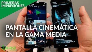 Sony Xperia X10 y X10 Plus: los smartphones IDEALES para CONSUMIR MULTIMEDIA