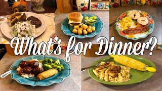 What's for Dinner?| Easy & Budget Friendly Family Meal Ideas| October 2019
