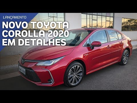 Novo Toyota Corolla 2020 - Todos os detalhes da nova geração