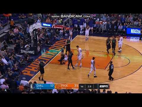 Isaiah Canaan Horrific Leg Injury - Phoenix Suns vs. Dallas Mavericks - 31/01/2018