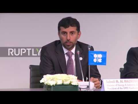Minister of Energy and Industry of UAE and President of the OPEC Conference Suhail M. Al Mazroue detailed the specifics of a charter that would help establish an accord with major oil producers such as Saudi Arabia and Russia as the Organisation of...
