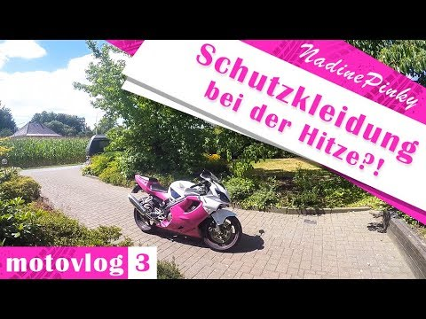 In Leggings auf dem Motorrad? | Random MotoVlog | NadinePinky #3